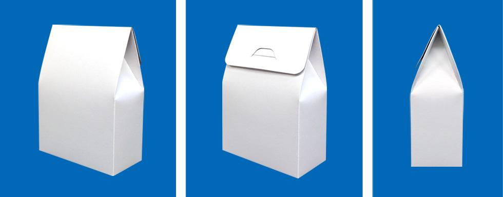 かわいい箱〜上が三角(家型)の箱〜