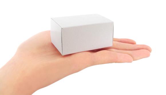 手のひらサイズの小さい箱