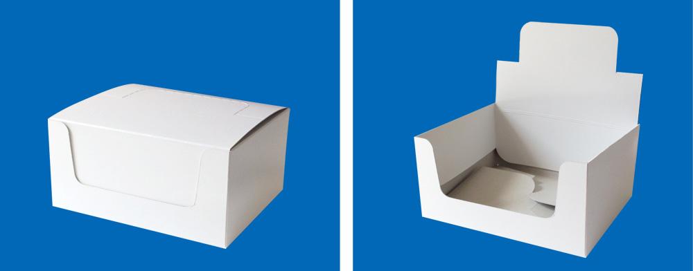 輸送&簡単ディスプレイ箱(POP付き箱)1