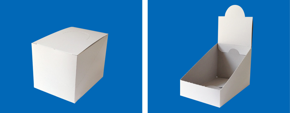 輸送&簡単ディスプレイ箱(POP付き箱)2
