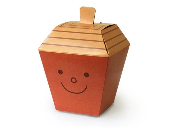 多面体の箱(どんぐり)