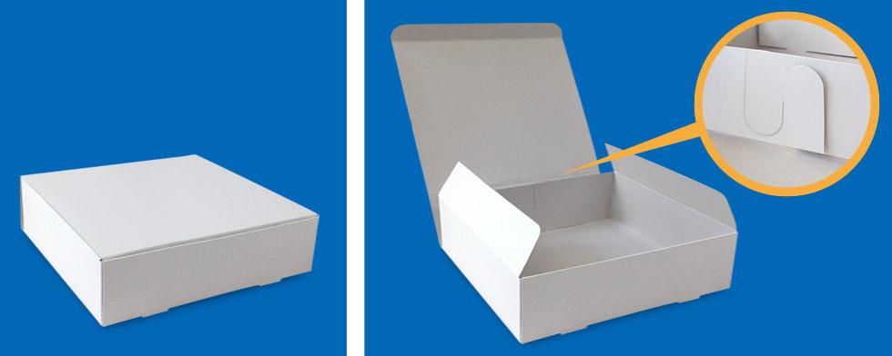 貼りなし!フタがくっついている、フタ身一体の箱(N式箱)